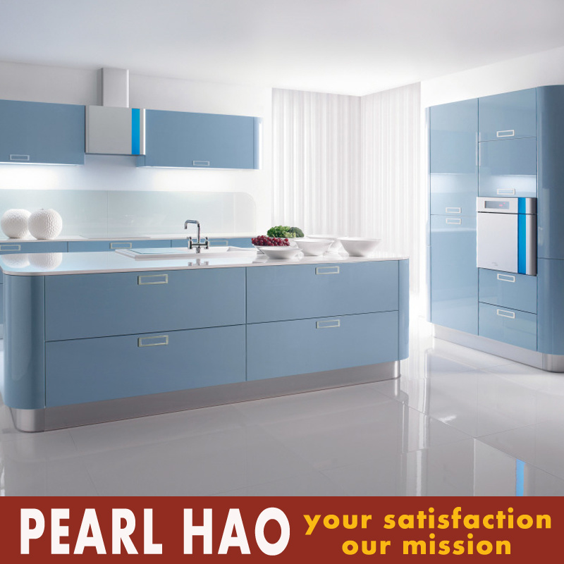 Modern Apartment Style Lacquer MDF Kitchen Cabinets Furniture