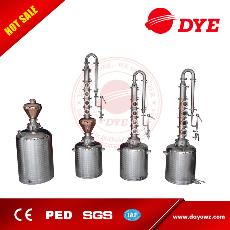 Home Distillery for Making Whiskey Gin Brandy Vodka Alcohol Distillation Equipment
