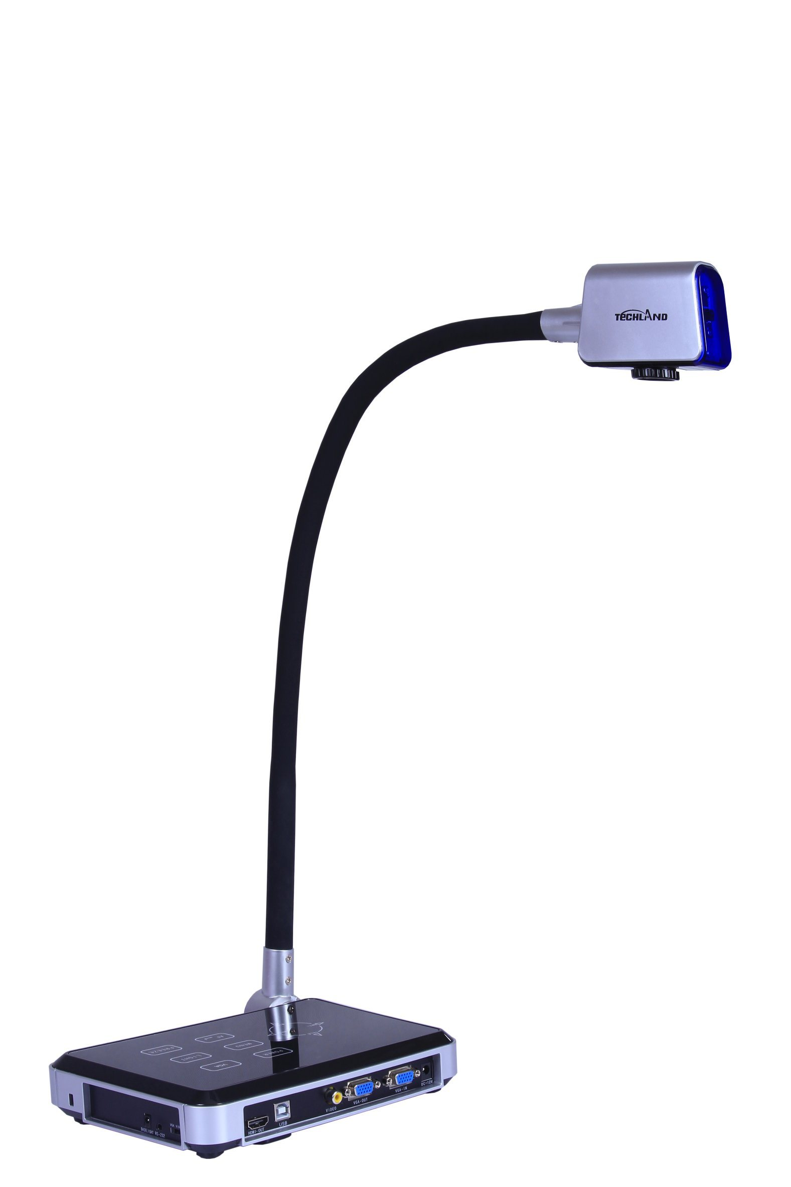 Gooseneck Multi-Media Portable Visualizer for Teaching