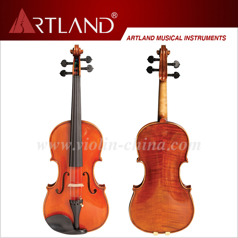 Professional Stradivari Model Violin Solo Violin High Grade Advanced Violin (AV300G)