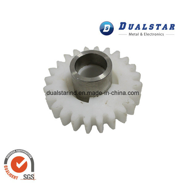Precise Plastic Gear with Metal Insert