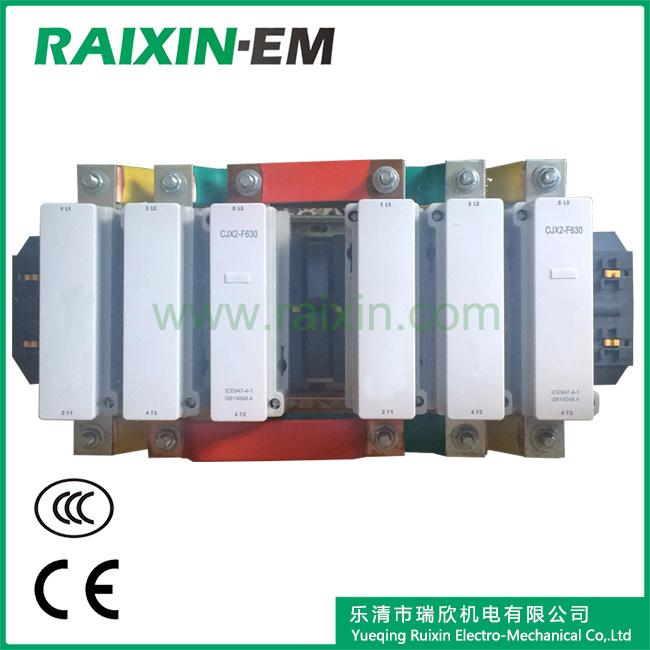 Raixin Cjx2-F630n Mechanical Interlocking Reversing AC Contactor