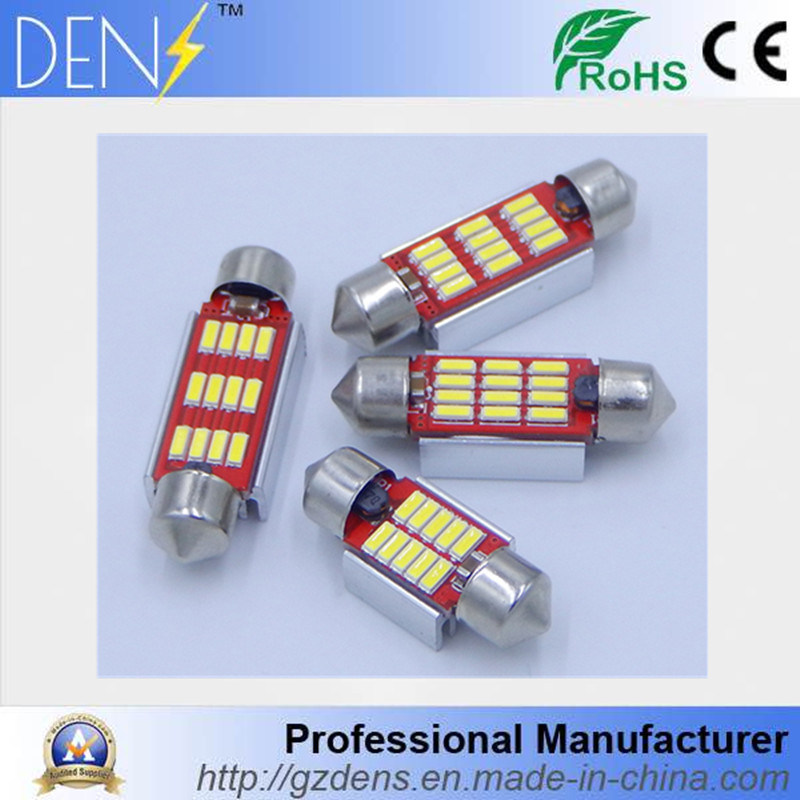 LED Festoon 36mm 39mm 41mm LED Dome Lamp License Plate Lights