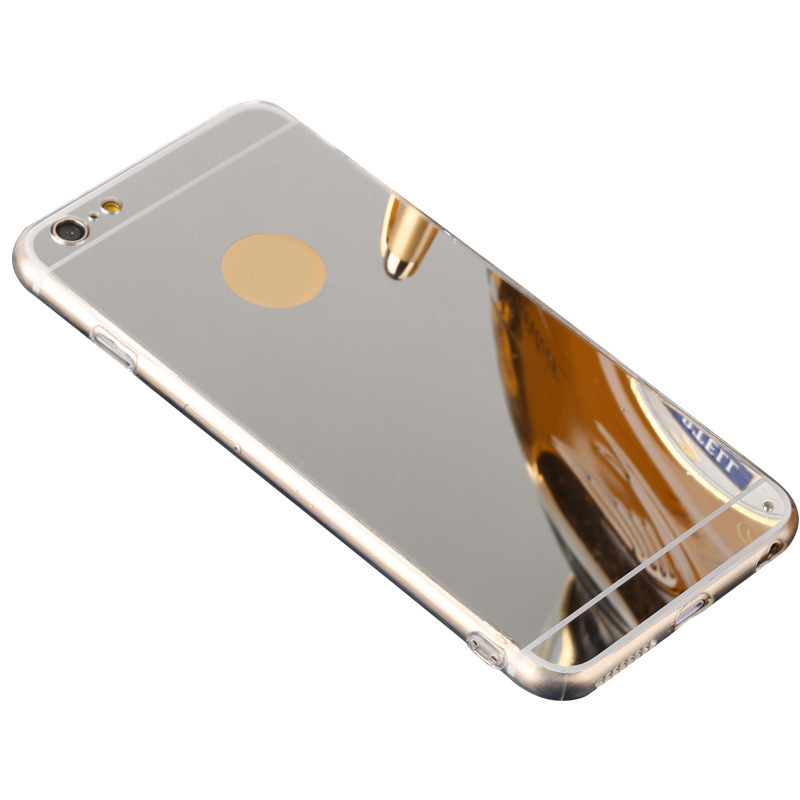 OEM 18k 24k Gold Plated TPU Phone Case for iPhone 6 6 Plus