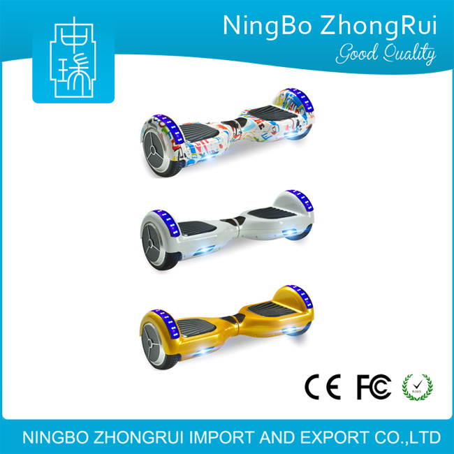 6.5 Inch Scooter Self Balancing Scooter with Bluetooth Hoverboard 2 Wheel Electric Scooter Cheap on Sale