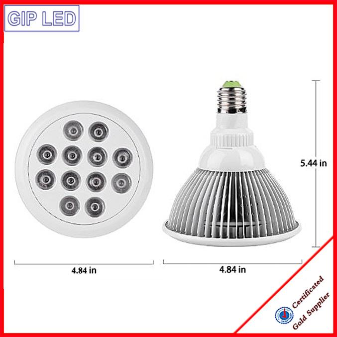 2016 Newest E27 12W 24W PAR38 Grow Plant LED Light
