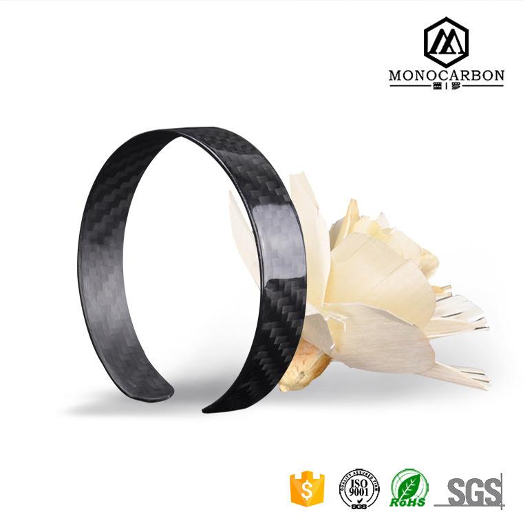 Top Selling Promotional Luxury Carbon Fiber Bracelet Bangle Design in China Bracelet