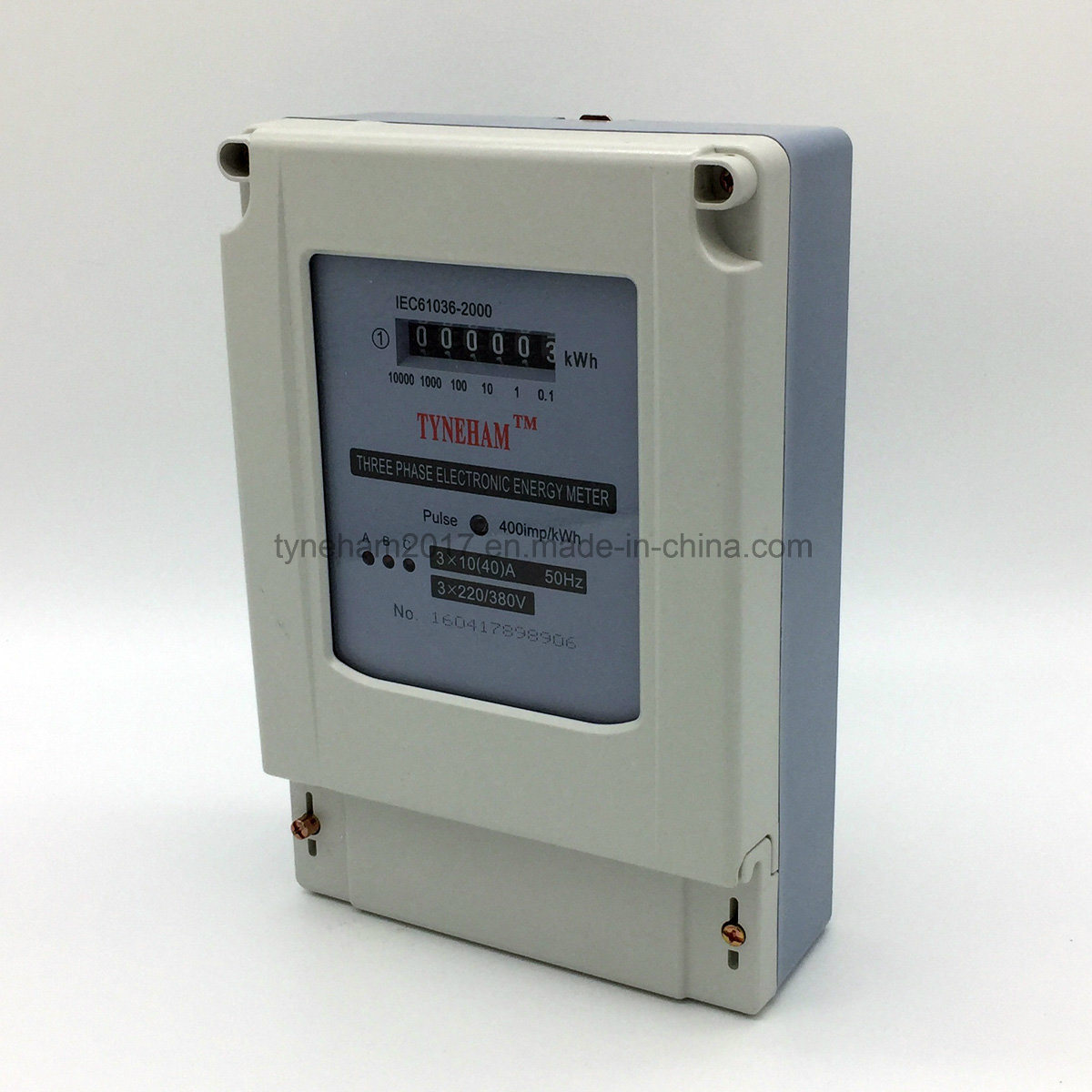 Dts-3r Three Pahse Four Wire Kwh Meter