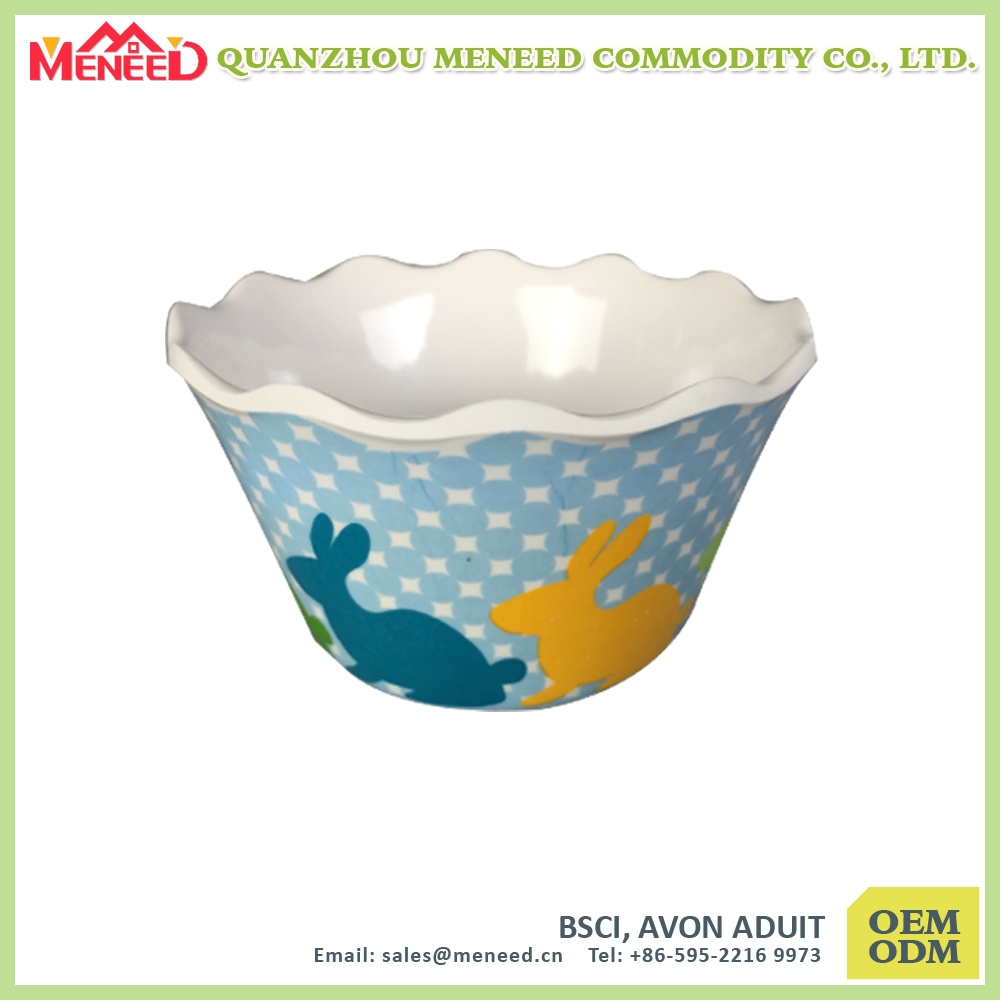 OEM&ODM Are Welcomed Factory Supply Melamine Salad Bowl