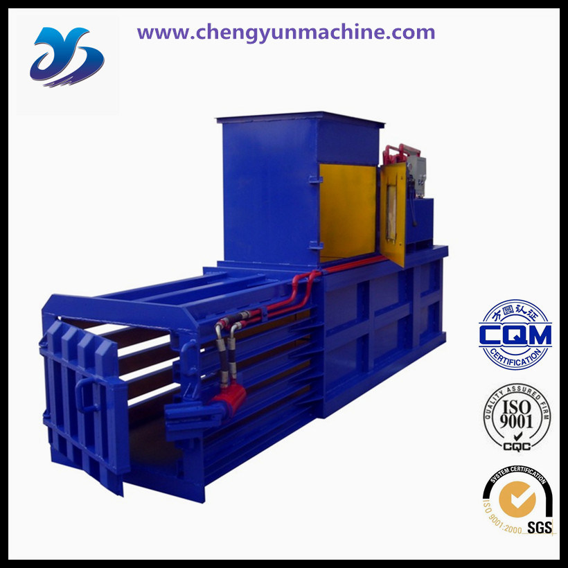 Hydraulic Driven Recycling Vertical Baler Equipment /Wool Baling Press Machine