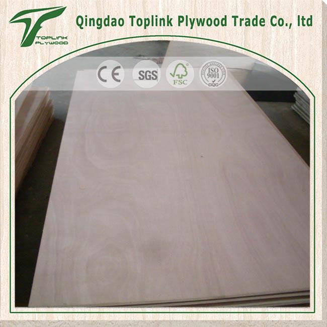 12mm Industrial Commercial Grade Cheap Price Poplar Core Okoume / Bintangor Wood