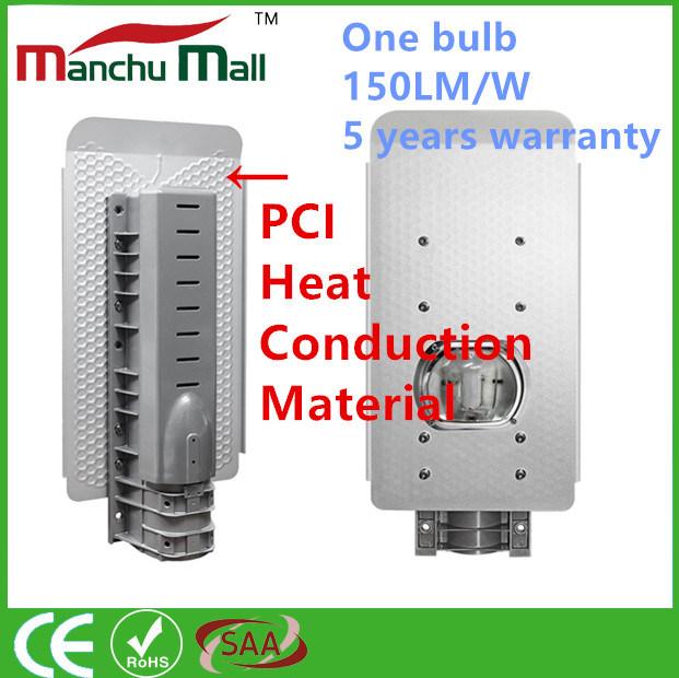 90W-180W PCI Heat Conduction Material COB LED Streetlight