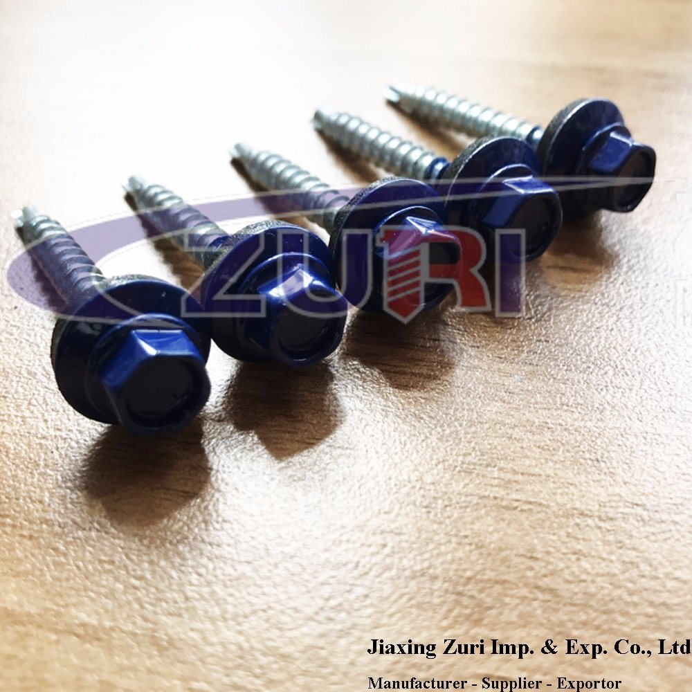 Roofing Screw 4.8X38 Ral 5002