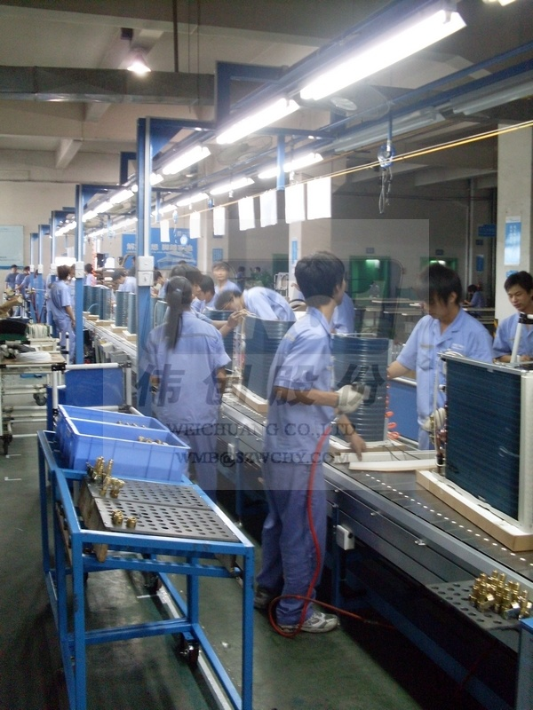 Professional Air Conditioner Assembly Line / Production Line Manufacturer
