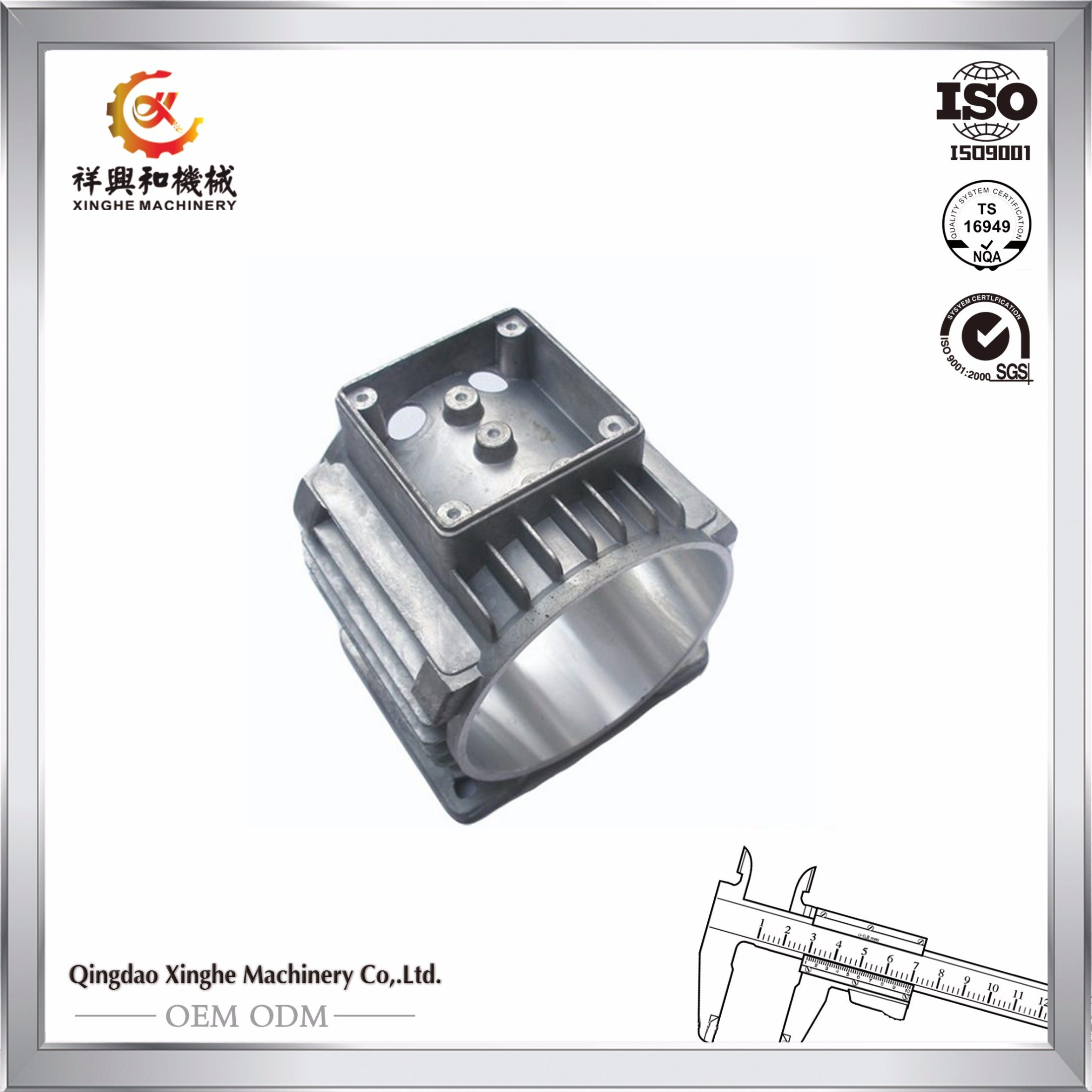 Customized Aluminum Die Casting Aluminum Motor Parts