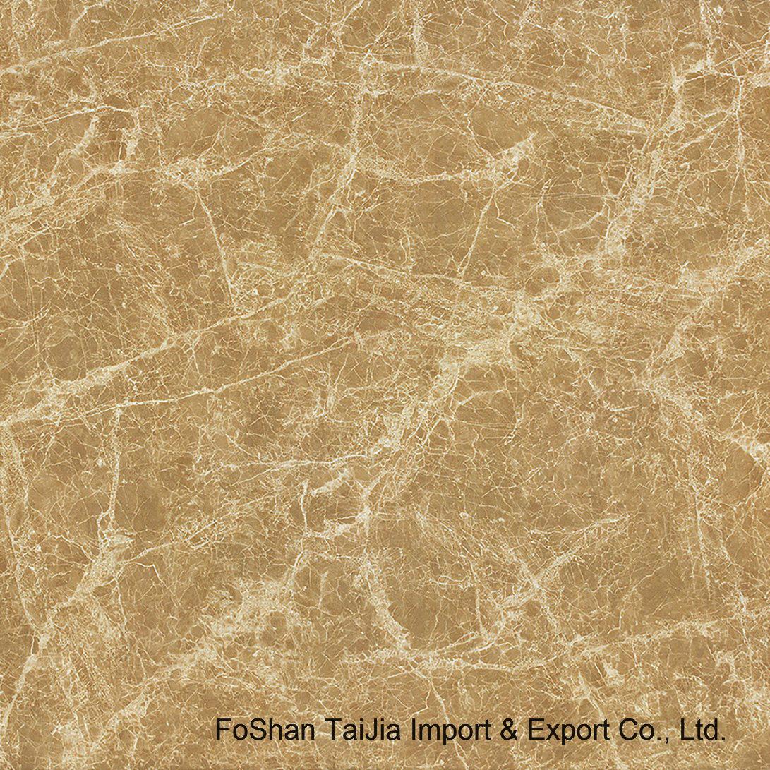 Full Polished Glazed 600X600mm Porcelain Floor Tile (TJ61007)