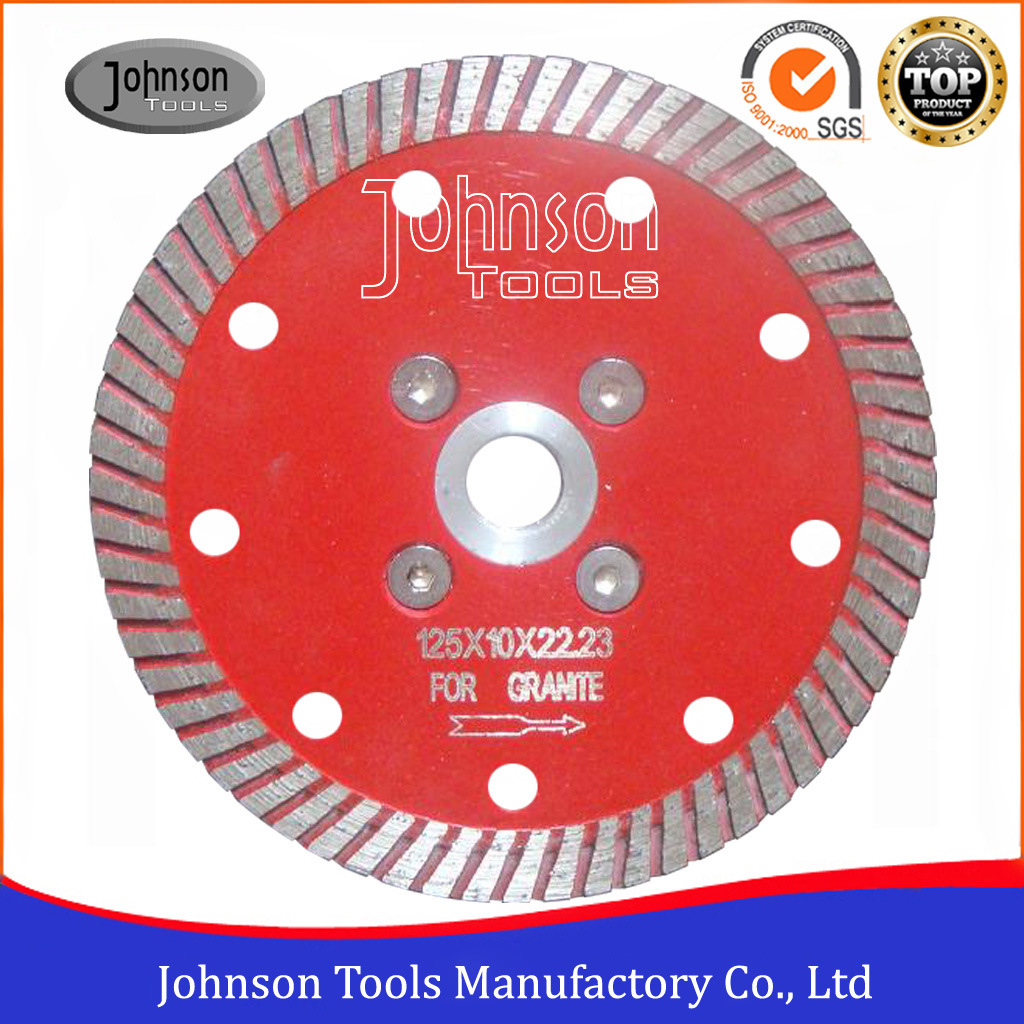125mm Hot Press Sintered Turbo Saw Blade Granite Cutting Blade