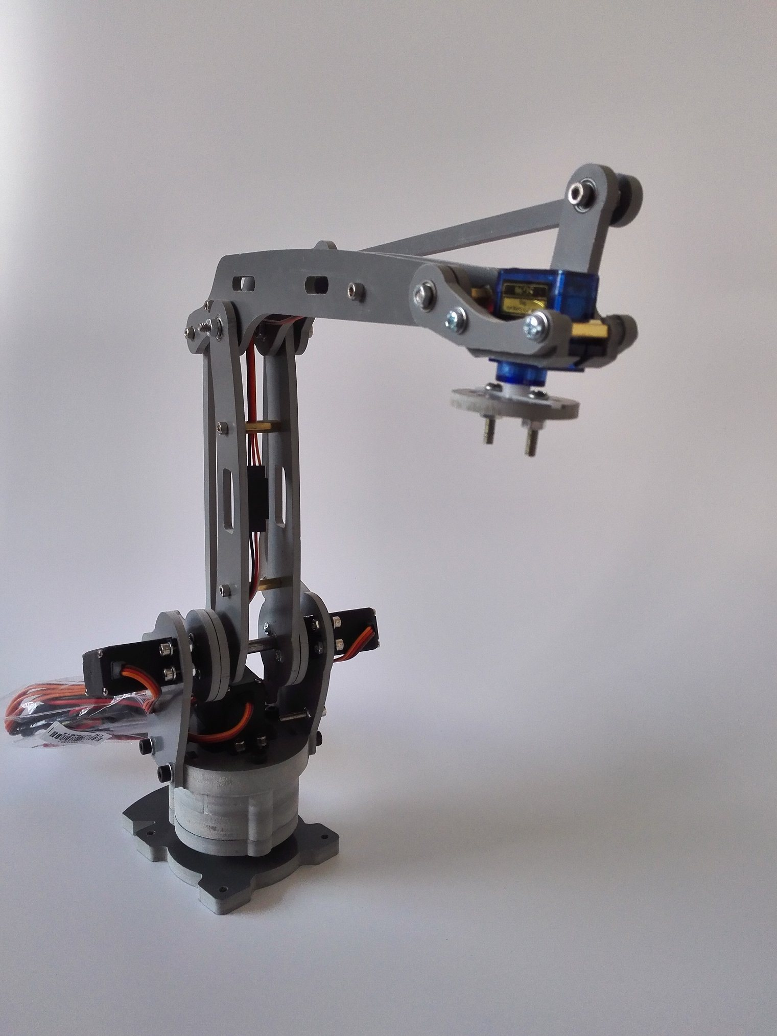 4 Axis Stacker Servos Arduino Controlled Palletizing Model Robot Arm