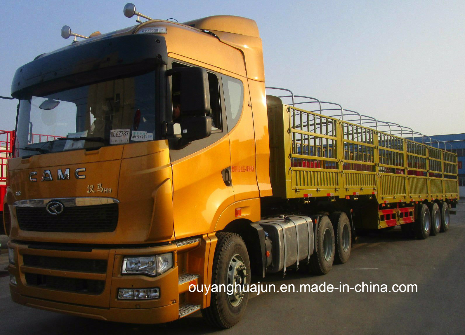 Super Light Stake Semitrailer