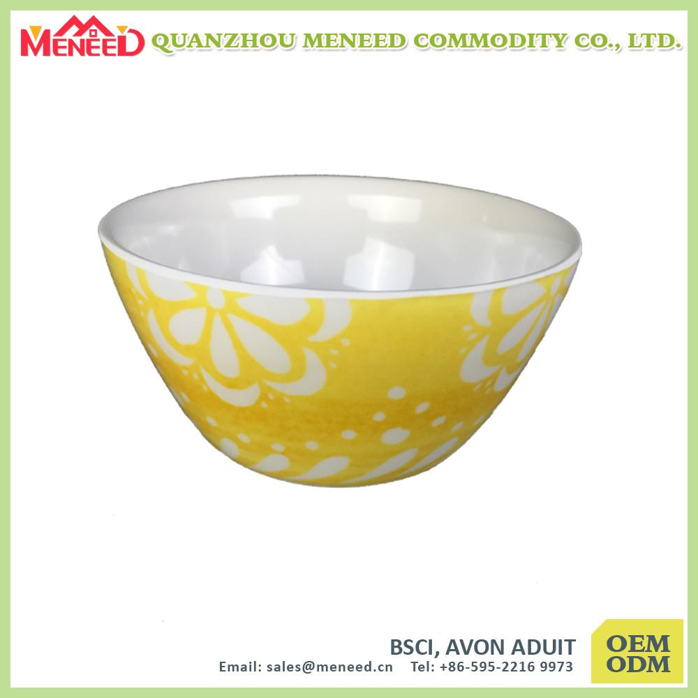 OEM&ODM Are Welcomed Factory Supply Melamine Salad Bowl