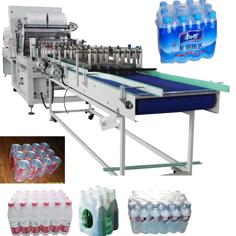 Automatic Linear Type Sleeve Sealing PE Film Shrink Wrapping Packing Machine