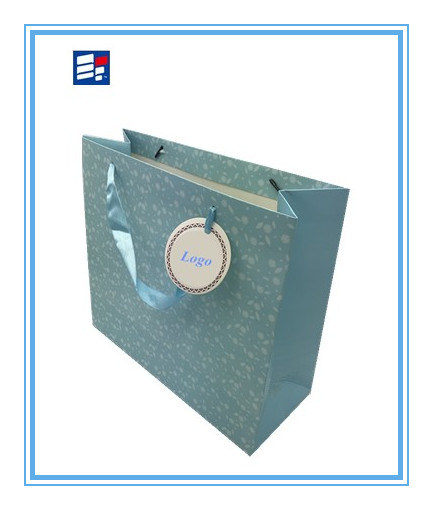 High Quality Paper Handle Bag with Custom Printing Logo
