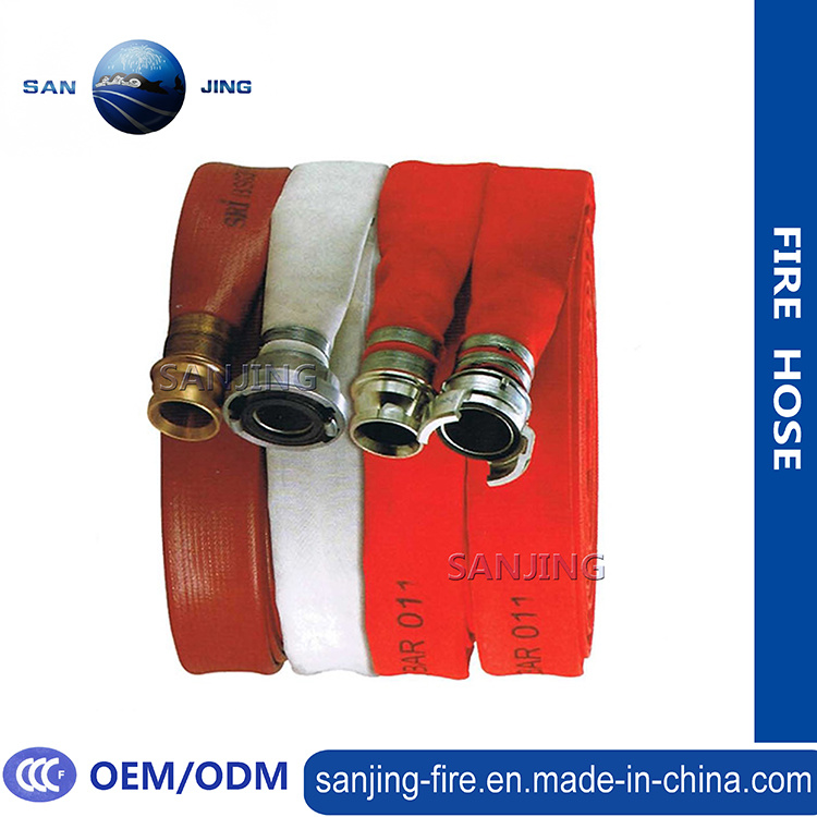 Rubber Fire Hose 1.5 Inch with Coupling
