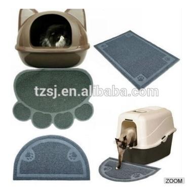 Pet Supply Dog Feeding Dish Bowl Placemat Cat Toilet Mat