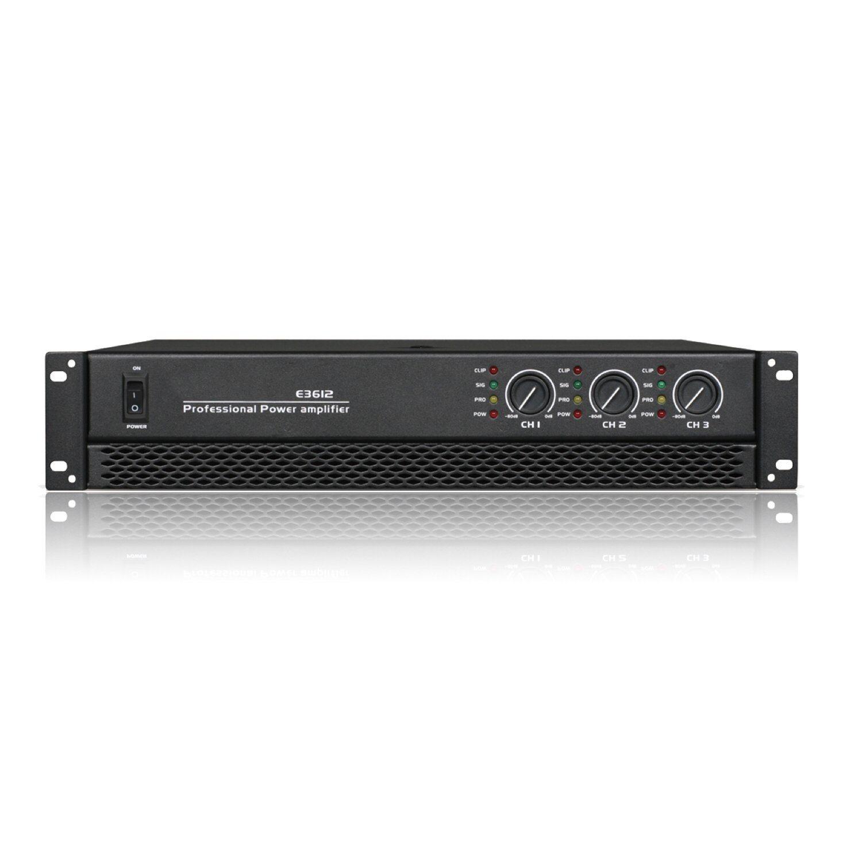 3 Channels Professional Amplifier