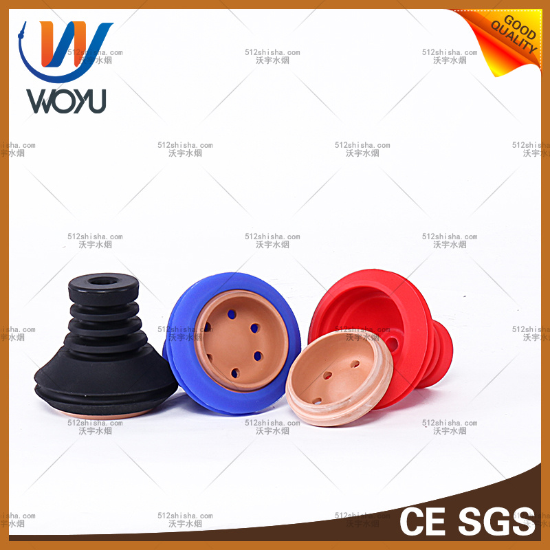 The New Silicone Clay Bowl Yanguo Smoke Cigarette Smoking Set Water Hookah Accessories