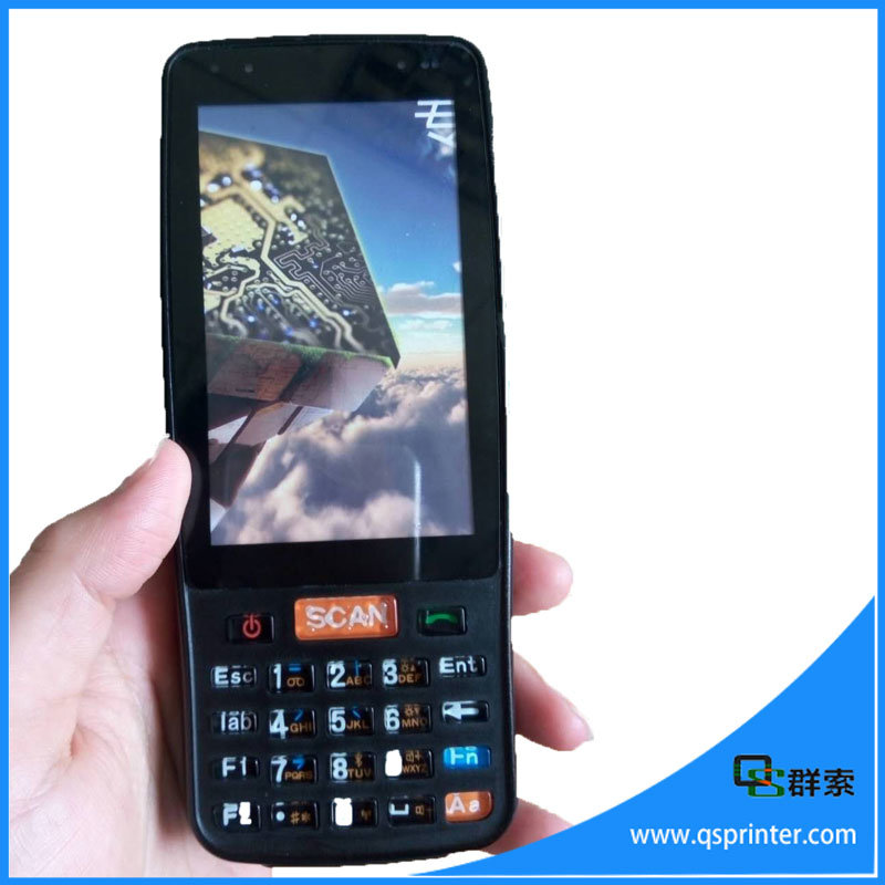 IP65 Rugged Industrial PDA Barcode Scanner Bluetooth 4G Handheld POS Terminal