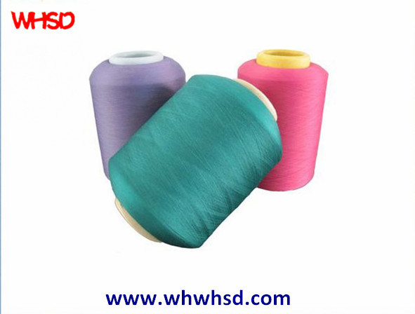 Polyester Viscose Blended Covering Spandex Yarn for Fabric