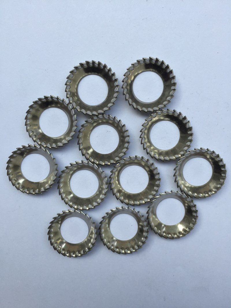 Conical Serrated Lock Washer DIN6798 V