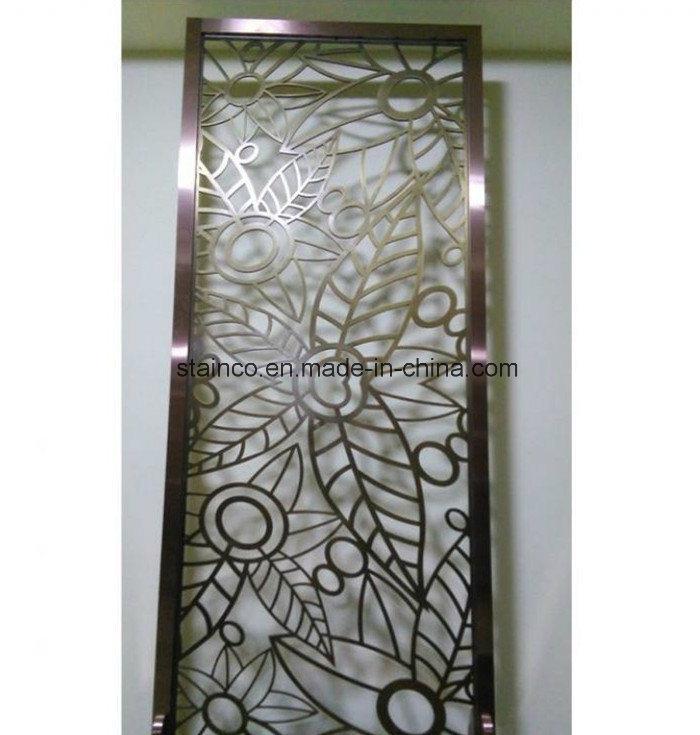 Residential Interior Metal Folding Screen