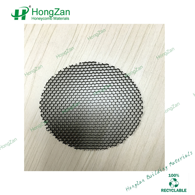 Aluminum Honeycomb Core for Sandwich Panels, Lighting, Laser Cutting, Photocatalyst