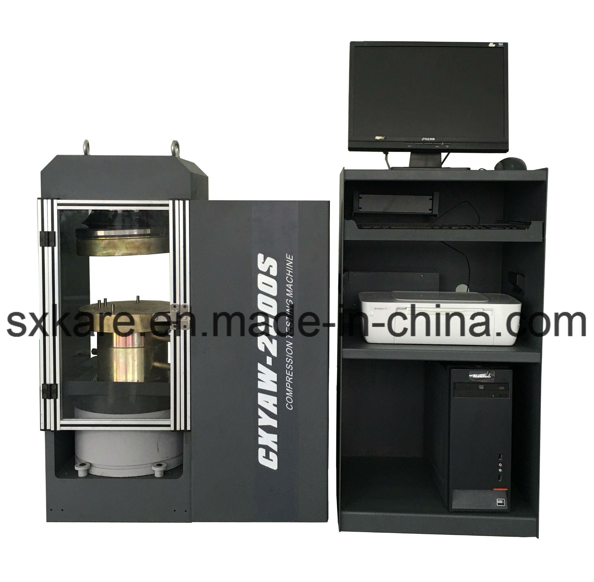 0.5 Grade Computerized Electro-Hydarulic Servo Compression Testing Machine (CXYAW-3000S)