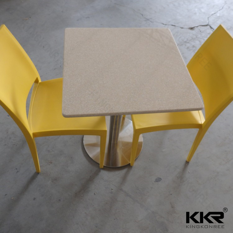 Acrylic Solid Surface Dining Table and Chair Set (T1708162)