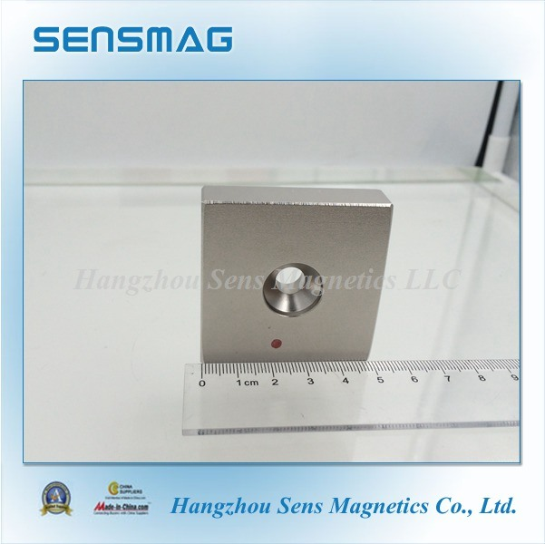 Manufacture Powerful N35~N55 Permanent NdFeB Magnet with One Hole