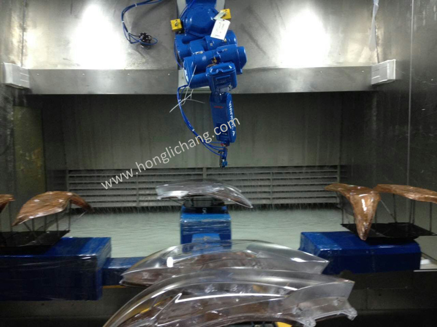 Complete Automatic UV Coating/Painting Line for Car Lamps