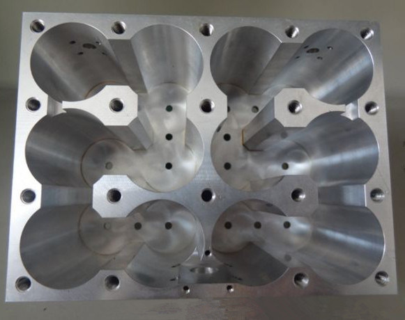 CNC Machining Aluminum Filter Parts for Communication Equipment
