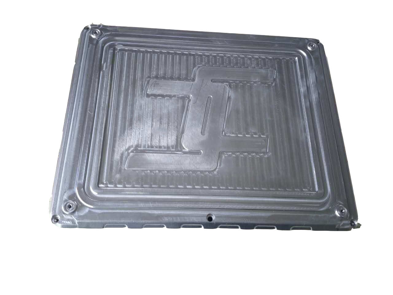 CNC Part, Aluminum CNC Machinery Part with Silvery Coating