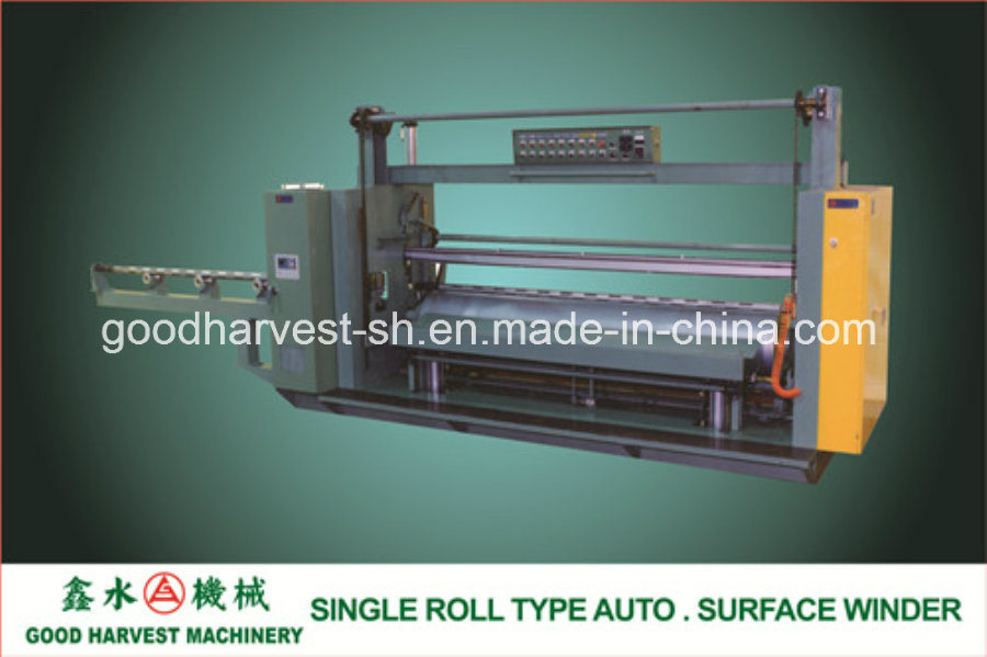 Single Roll Type Auto. Surface Winder for PVC Calender Line