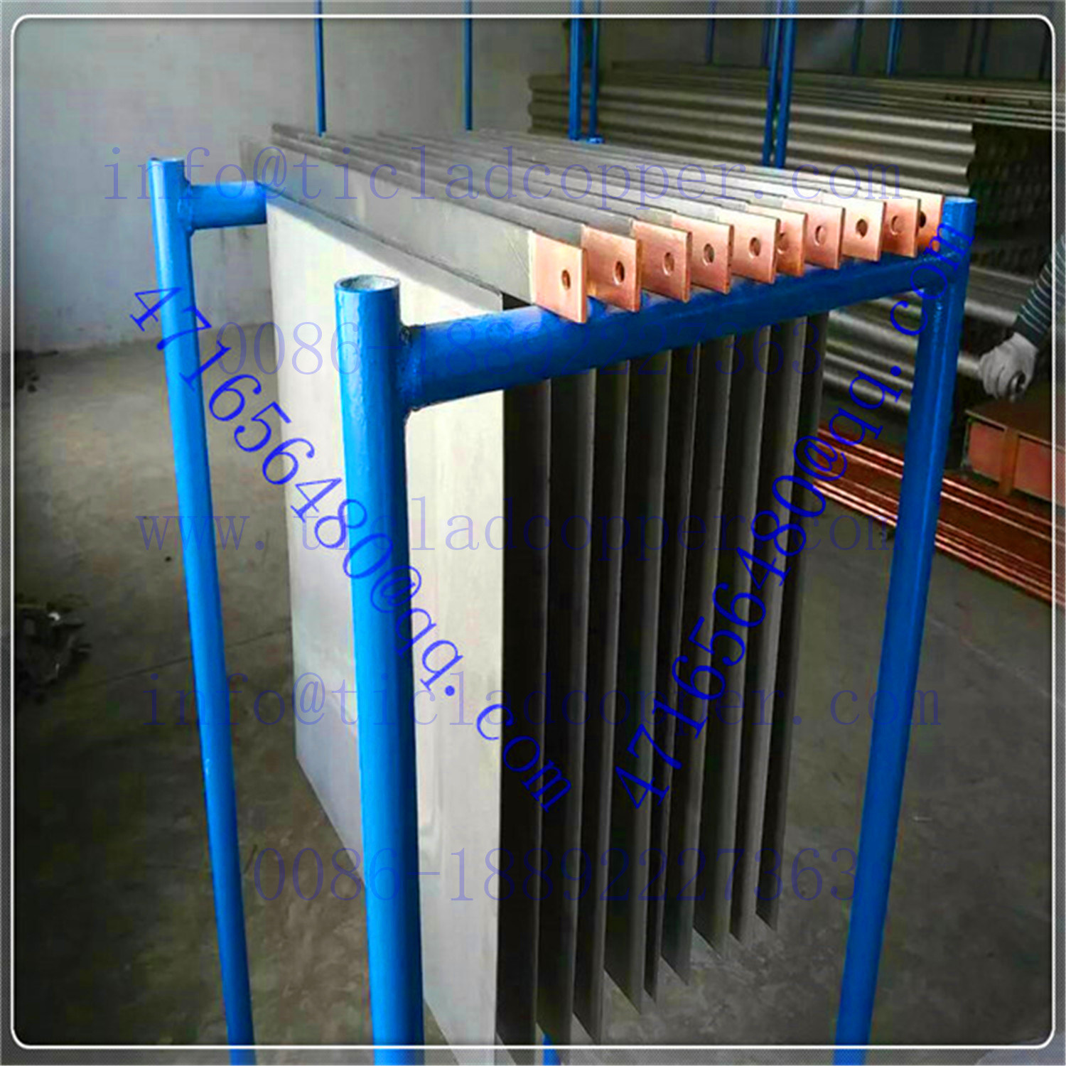 Permanent Titanium Cathode Plates