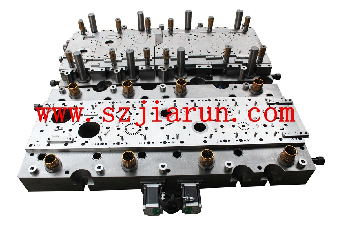Sheet Metal Stamping Brushless Motor Rotor Stator Die Using Electronic