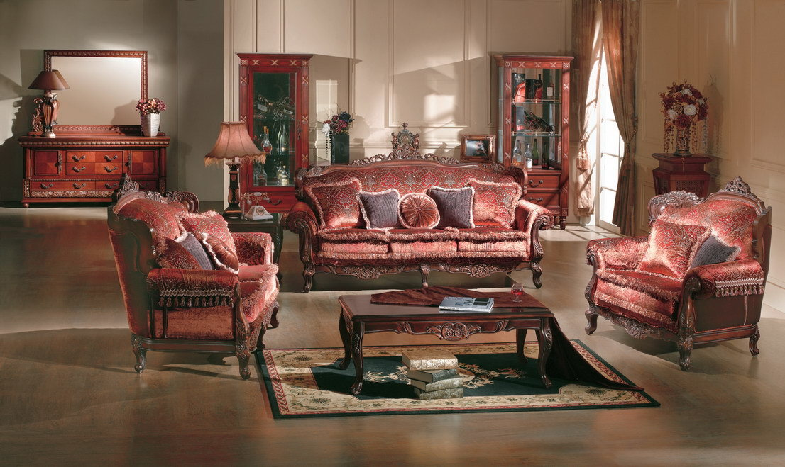 antique living room furniture on Antique   Classical Sofa  Living Room Furniture  4057     China