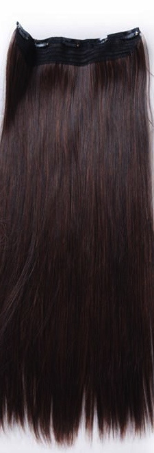 Luxury New Arrived Half Clip on Hair Extension Wig (WBHF-WCW-0002)