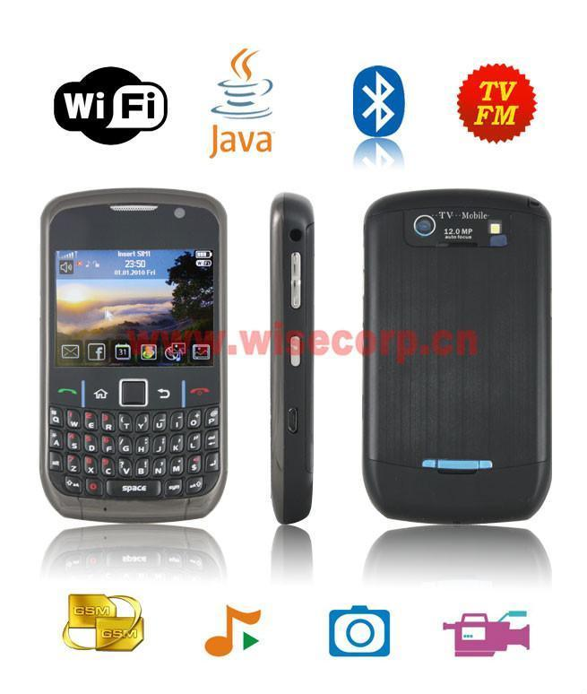 china 8520wt bb wifi tv mobile phone china 8520wt bb