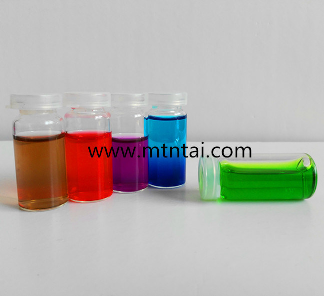 10ml Glass Sample Bottle with Plastic Snap Caps