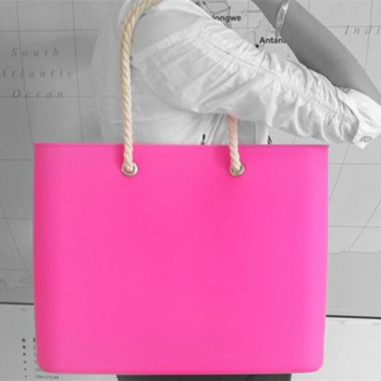 New Designer Eco-Friendly Silicone Beach Bag for Women