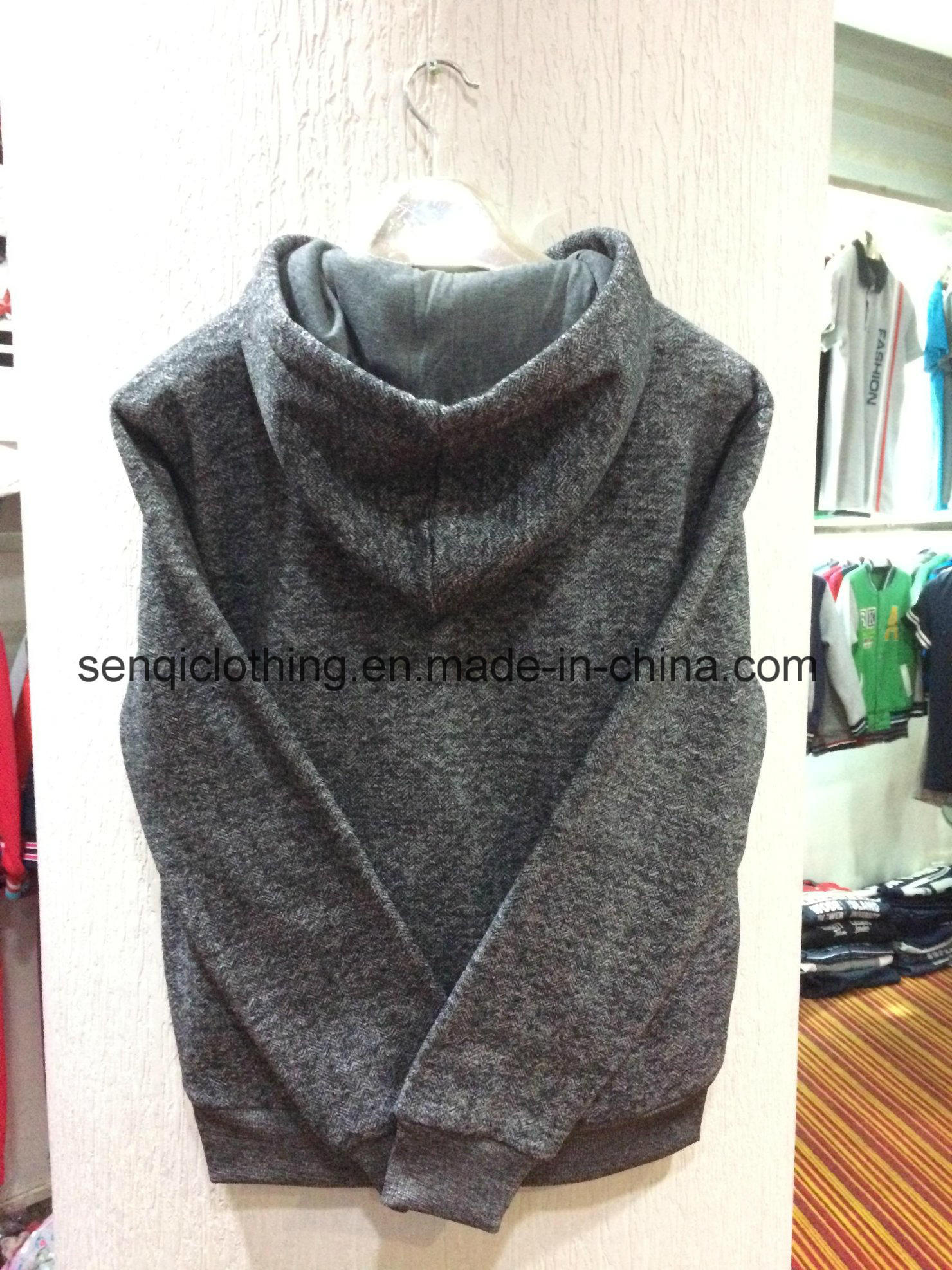 Custom Hoodie Sweater Fashion with Own Logo Hoody for Men Coat Clothes Design Fw-8640